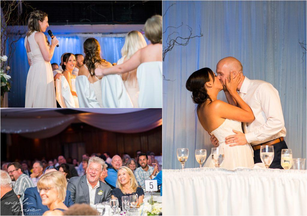 Profile Event Center wedding toasts