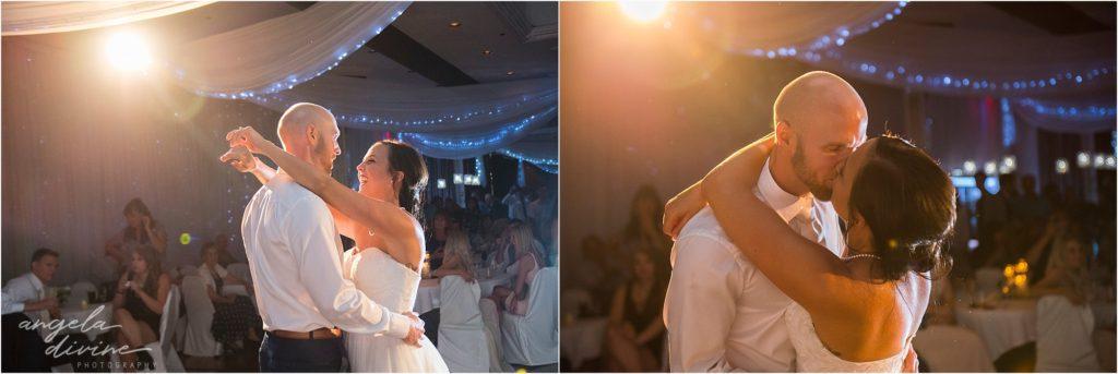 Profile Event Center wedding first dance