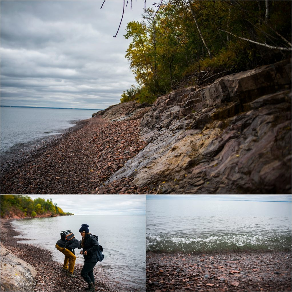 Duluth Beach Hiking