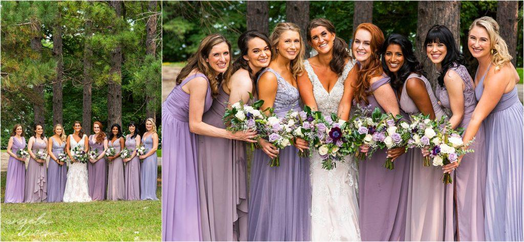 Barn at Five Lakes Wedding groomsmen
