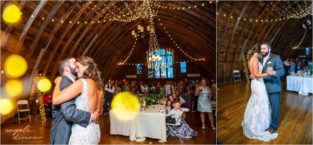 Barn at Five Lakes Wedding Dance