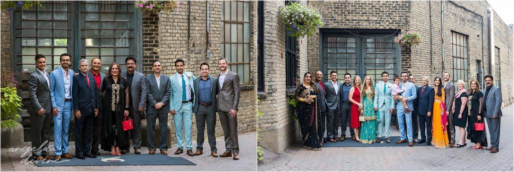 Cafe Lurcat Wedding Reception Family