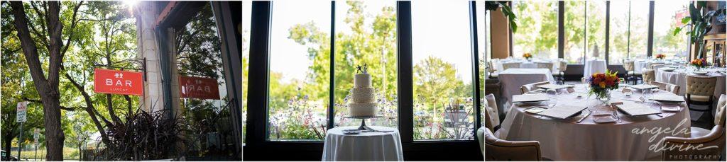 Cafe Lurcat Wedding Reception Dinner