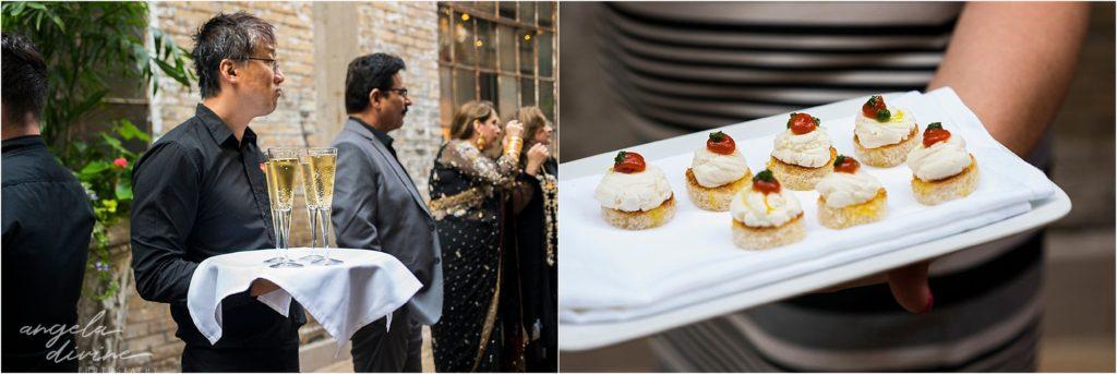 Cafe Lurcat Wedding Reception Food