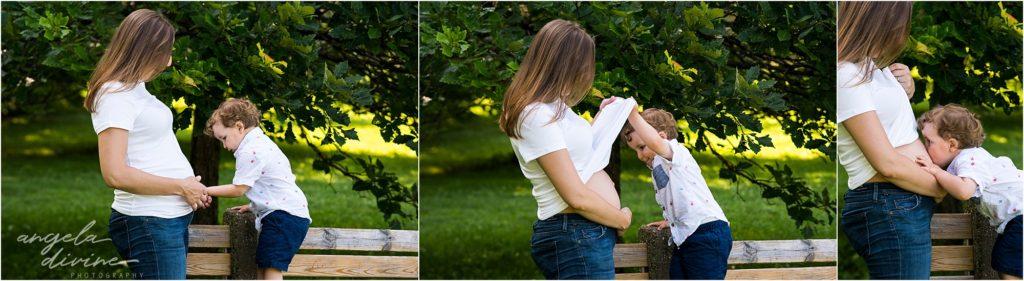Lyndale Rose Garden Family Session Maternity