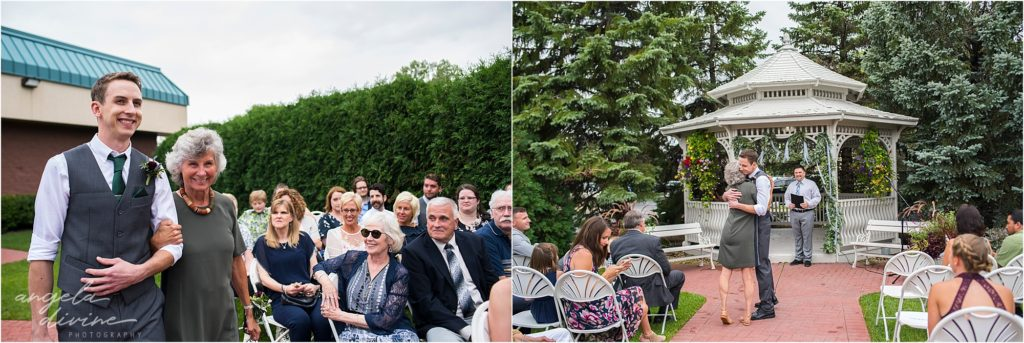 Jimmy's Event Center Outdoor Ceremony