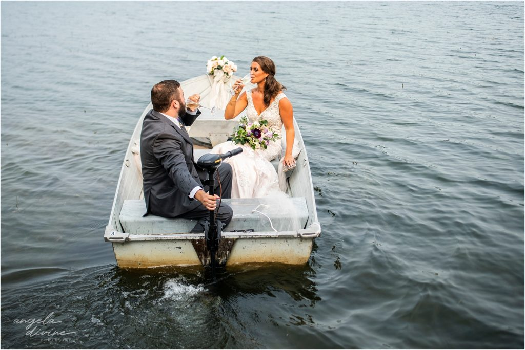 Barn at Five Lakes Wedding