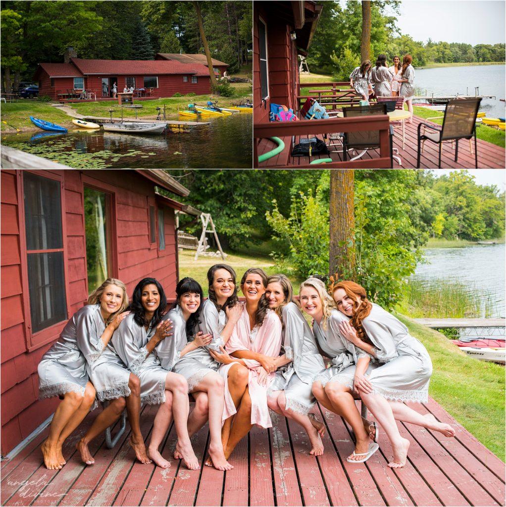 Barn at Five Lakes Wedding Girls Cabin
