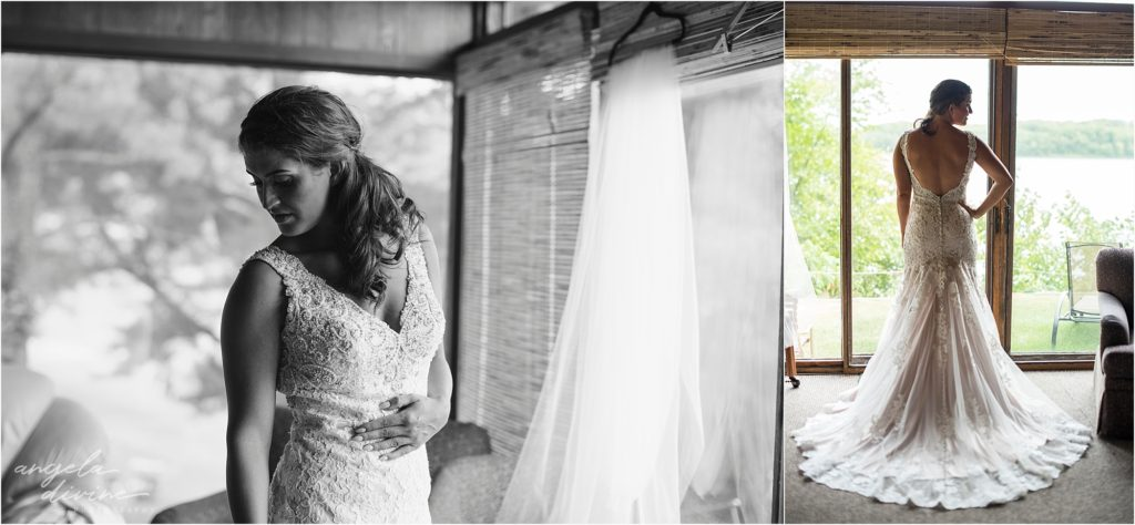 Barn at Five Lakes Wedding Bride's Dress