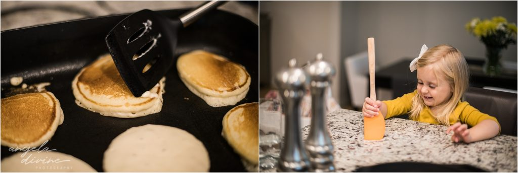 Passing the Traditions Portrait Session Pancakes