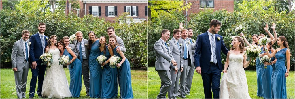 Gale Mansion Wedding Party