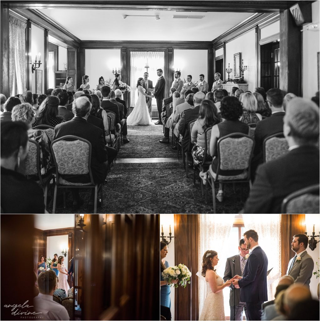 Gale Mansion Wedding Ceremony