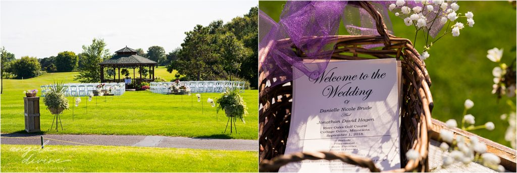 River Oaks Golf Course Wedding Ceremony Details