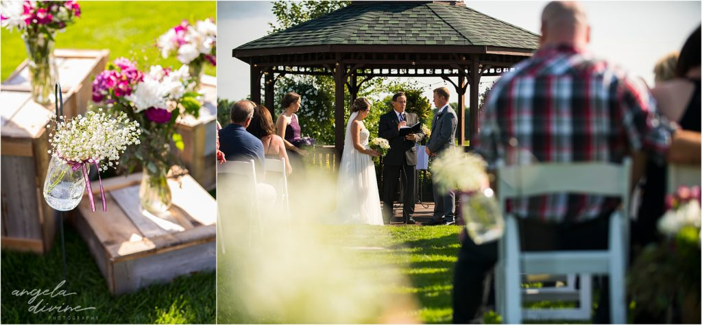 River Oaks Golf Course Wedding Ceremony