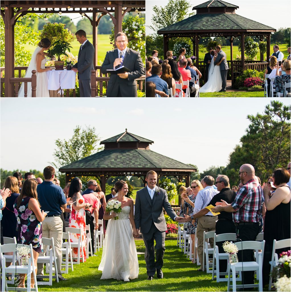 River Oaks Golf Course Wedding Ceremony Space