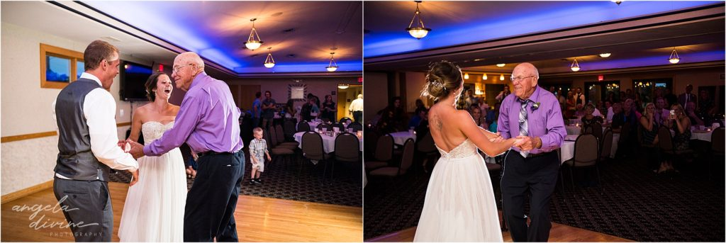 River Oaks Golf Course Wedding Dancing