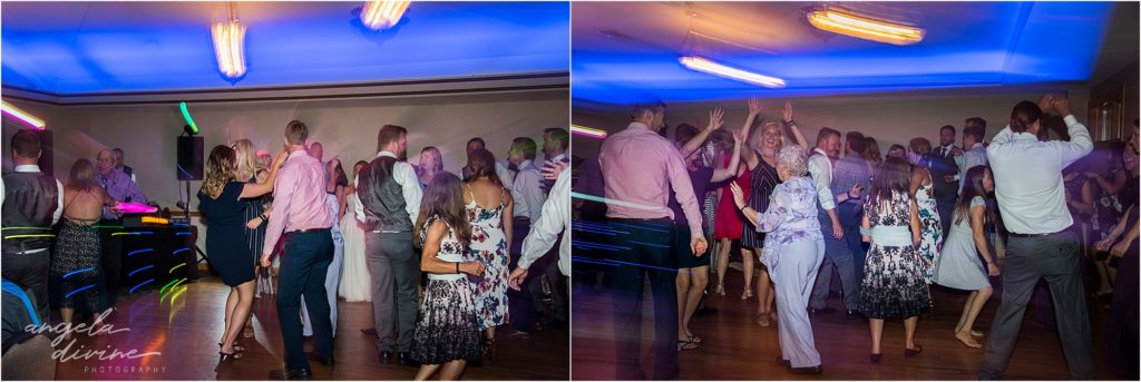 River Oaks Golf Course Wedding Dance Party
