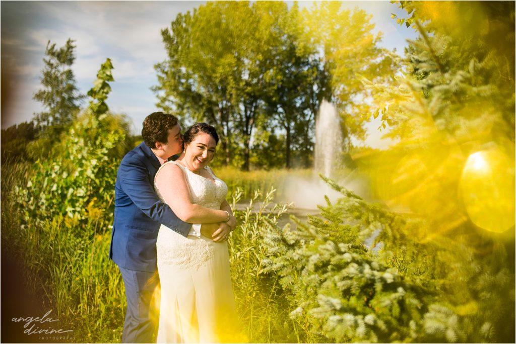Millennium Garden Wedding