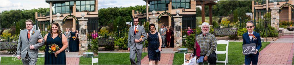 Millennium Garden Wedding Ceremony Processional
