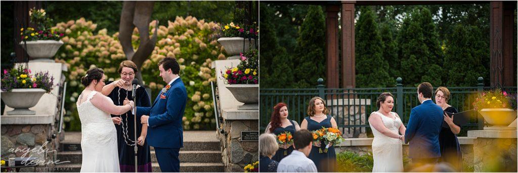 Millennium Garden Wedding Ceremony Knot Tying