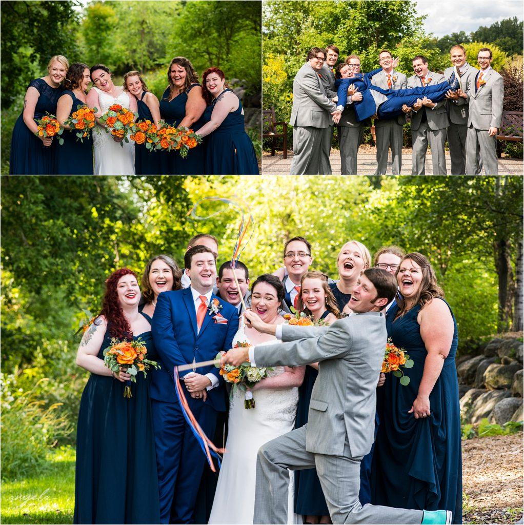 Millennium Garden Wedding Party