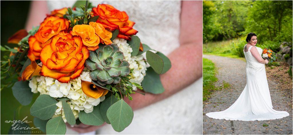 Millennium Garden Wedding Bride