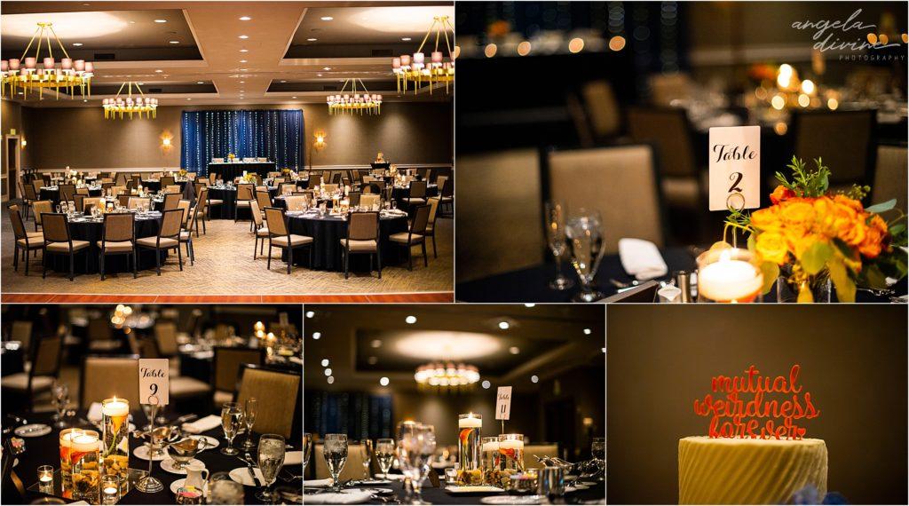 Millennium Garden Wedding Marriott Minneapolis West Reception