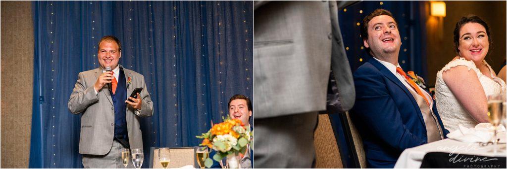 Millennium Garden Wedding Marriott Minneapolis West Speech