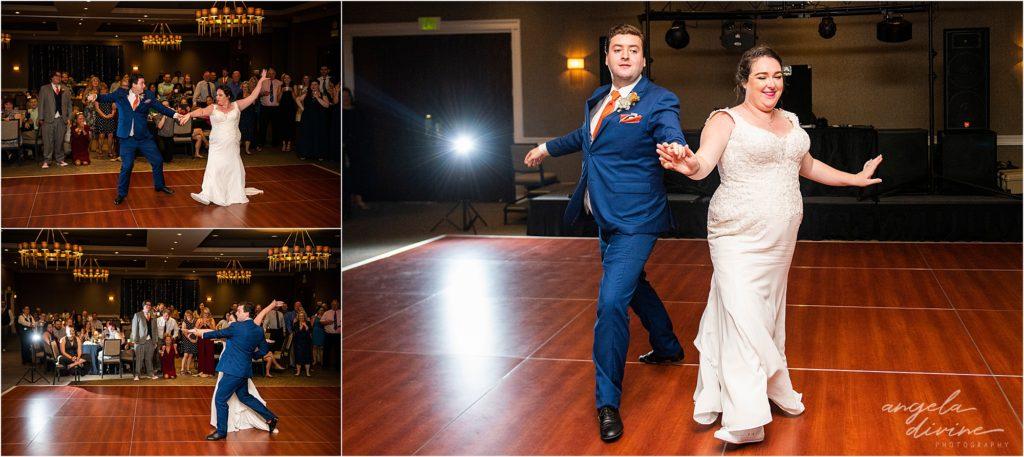 Millennium Garden Wedding Marriott Minneapolis First Dance