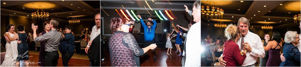 Millennium Garden Wedding Marriott Minneapolis Dance Floor
