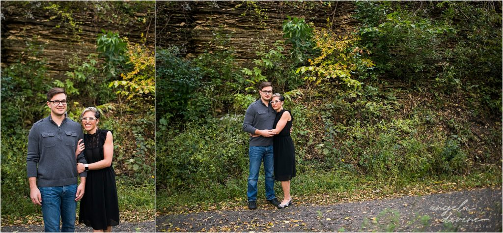 Coldwater Spring Minneapolis Engagement Session Bluffs