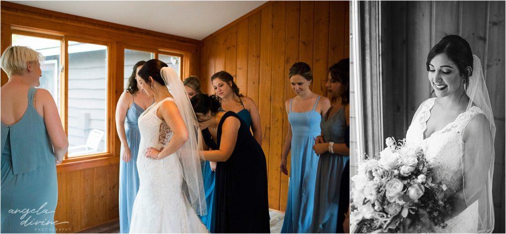 Grand View Lodge Wedding Preparation