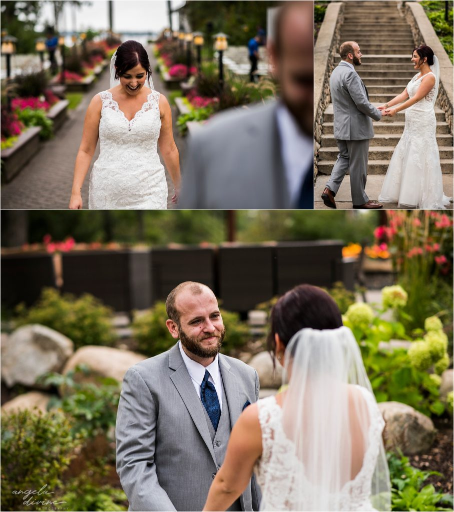 Grand View Lodge Wedding First Look