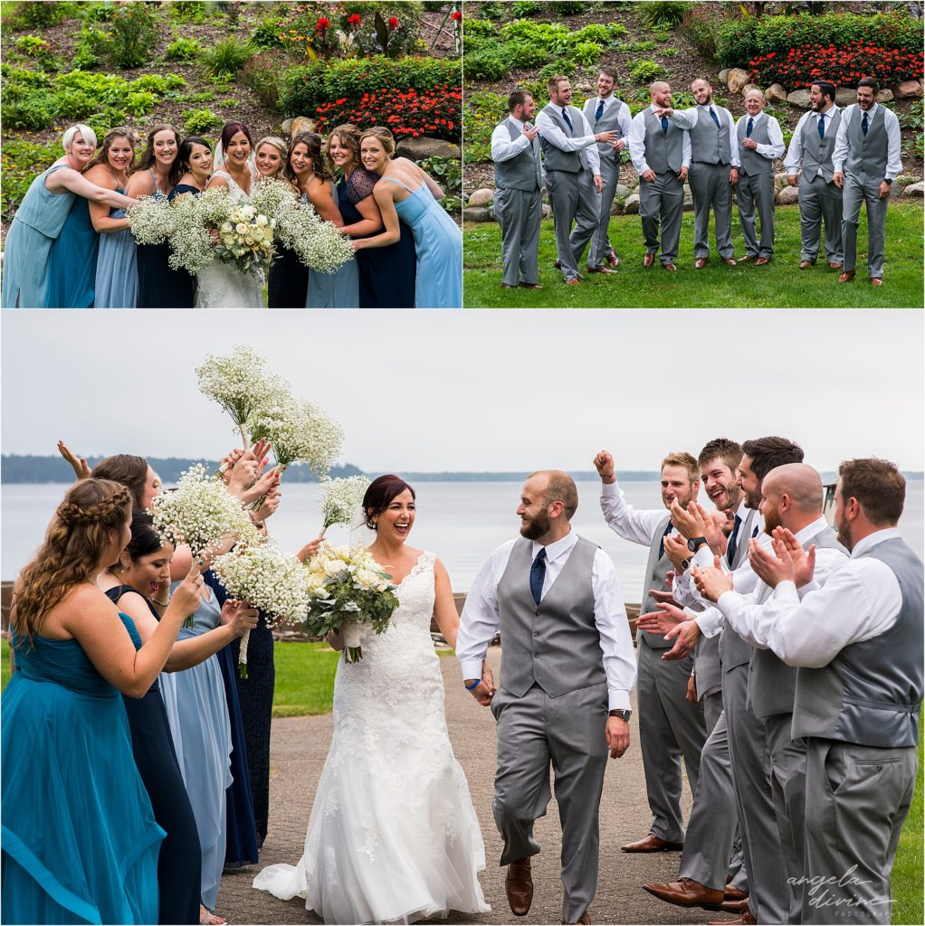 Grand View Lodge Wedding Party