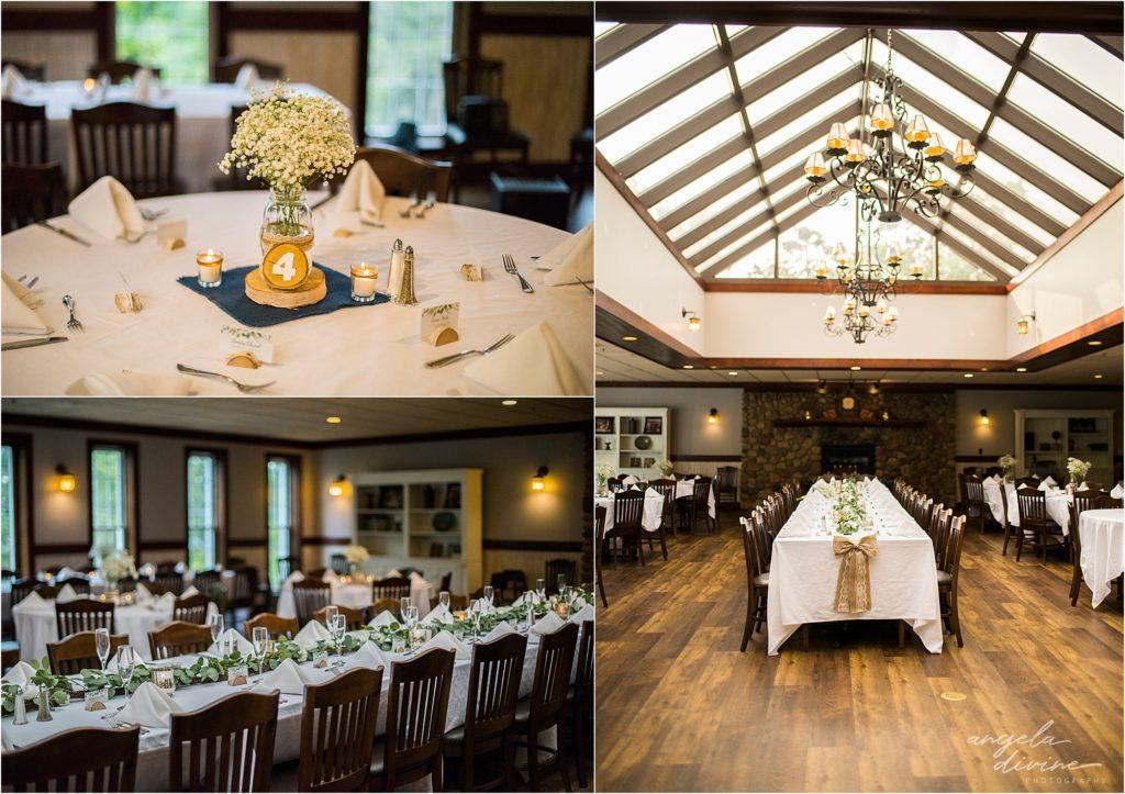 Grand View Lodge Wedding Ceremony Reception Room