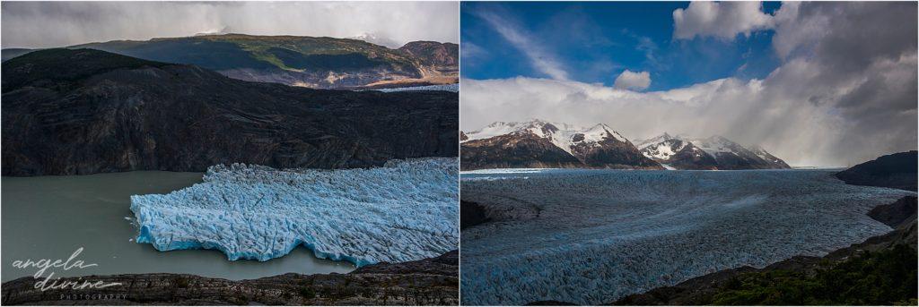 torres del paine w trek glacier grey