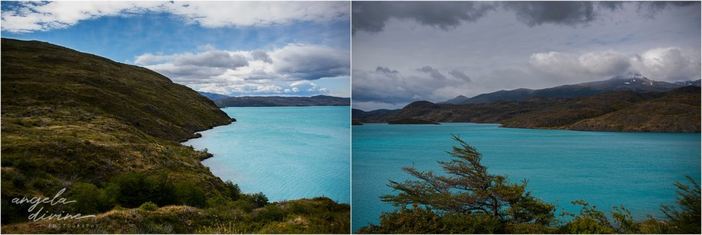 torres del paine w trek hike from grande to fances