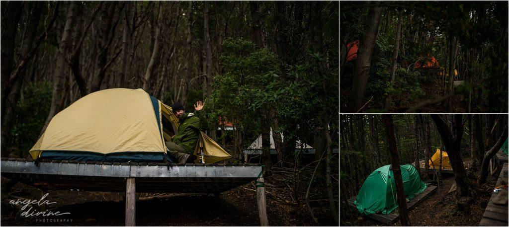 torres del paine w trek fances campsite