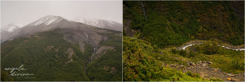 torres del paine w trek Chileno mountains