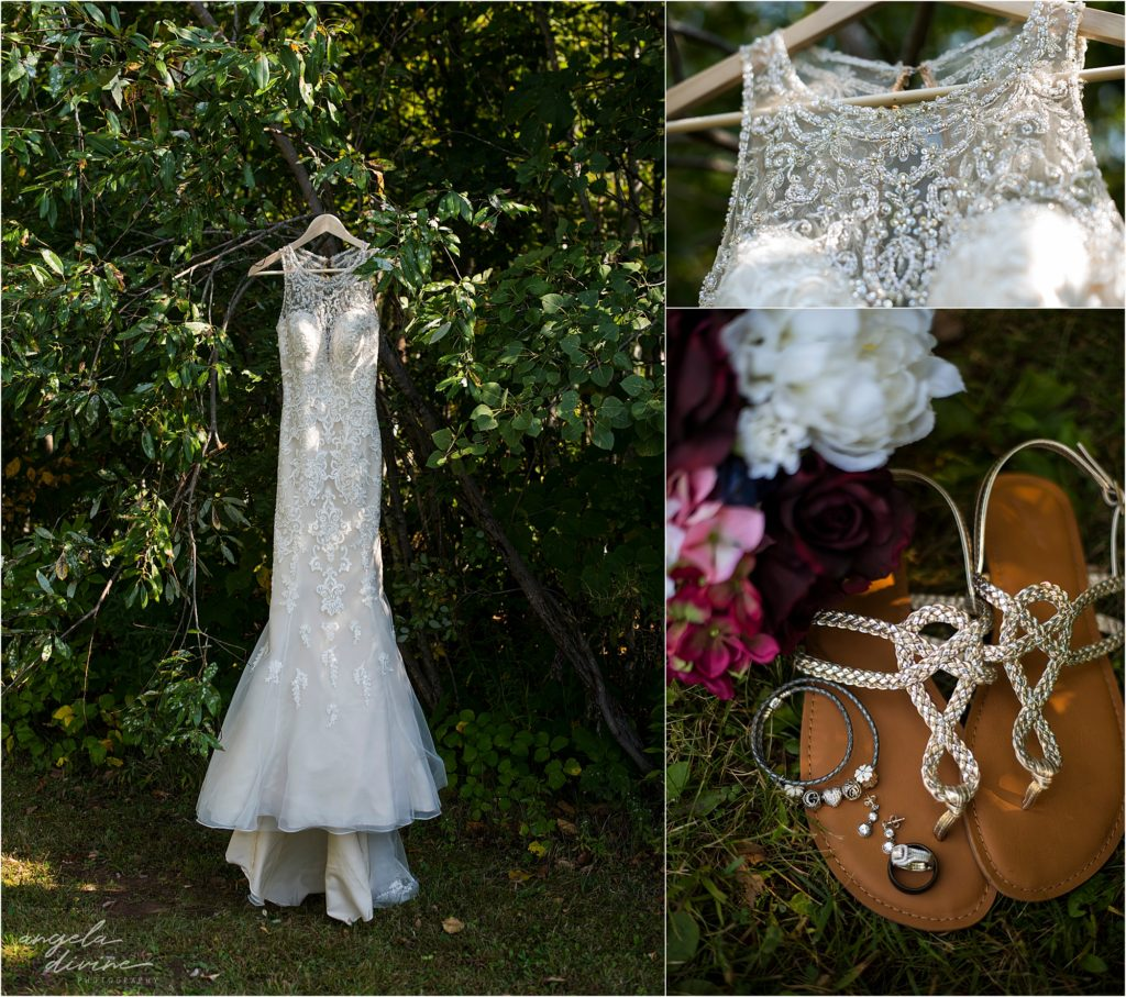 the grand event center wedding dress