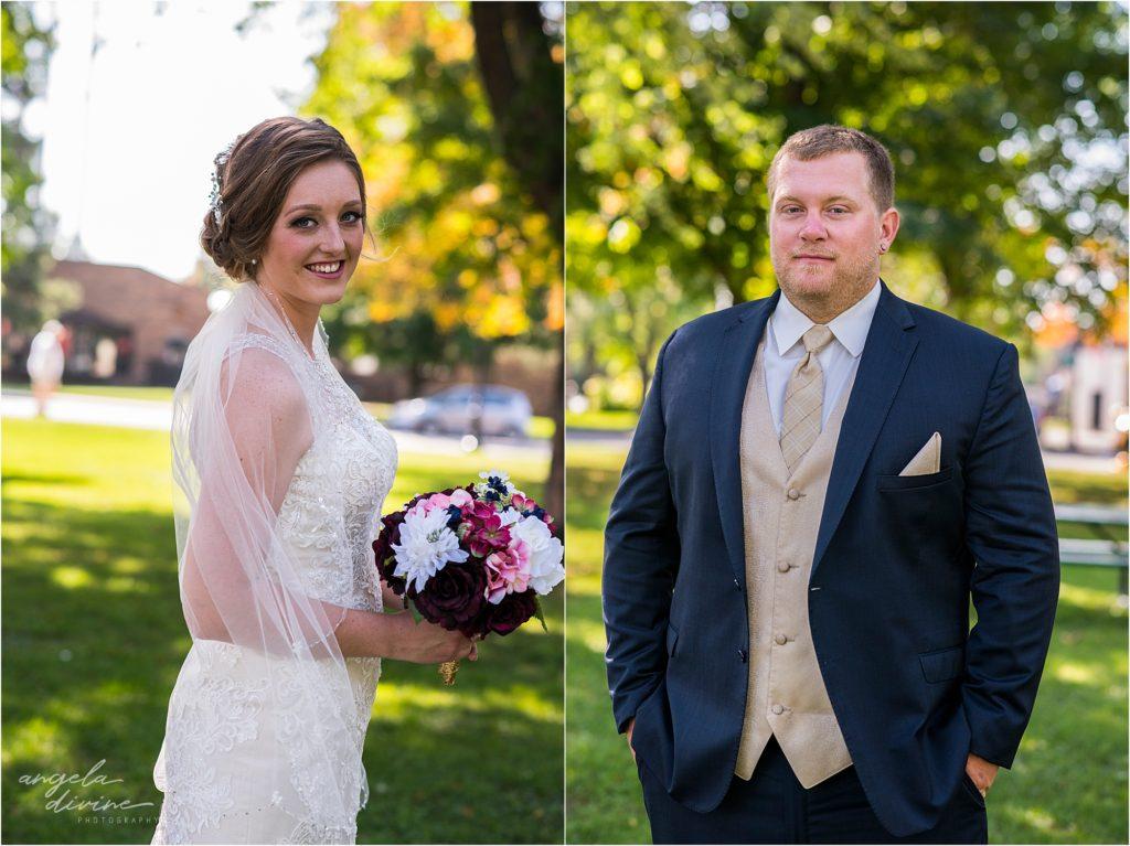 the grand event center wedding bride and groom Mora Minnesota
