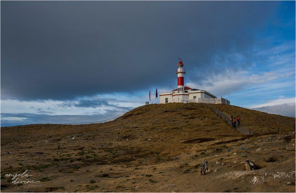 Punta Arenas Isla Magdalena lighthouse