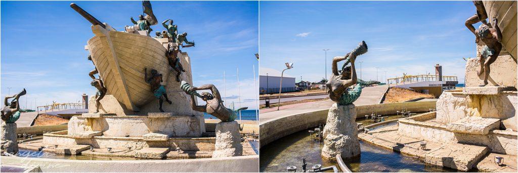 Punta Arenas statues