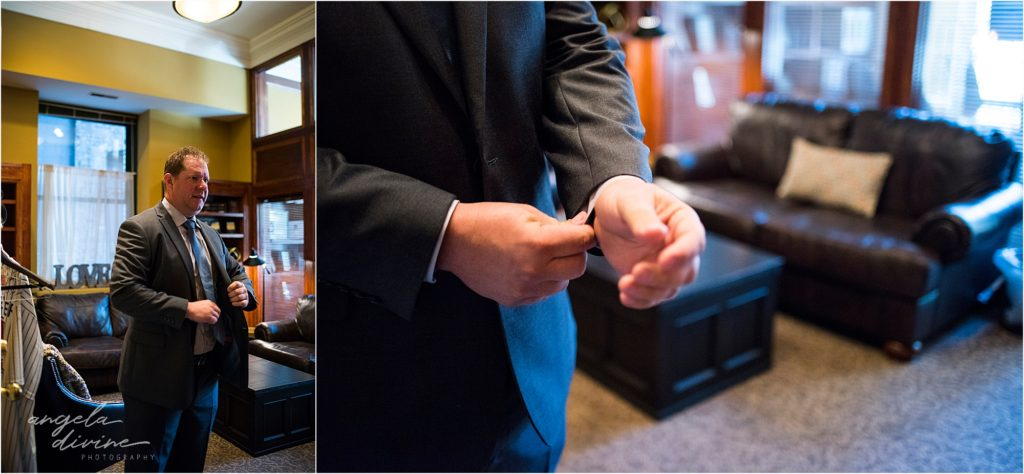 413 on Wacouta wedding groom's room