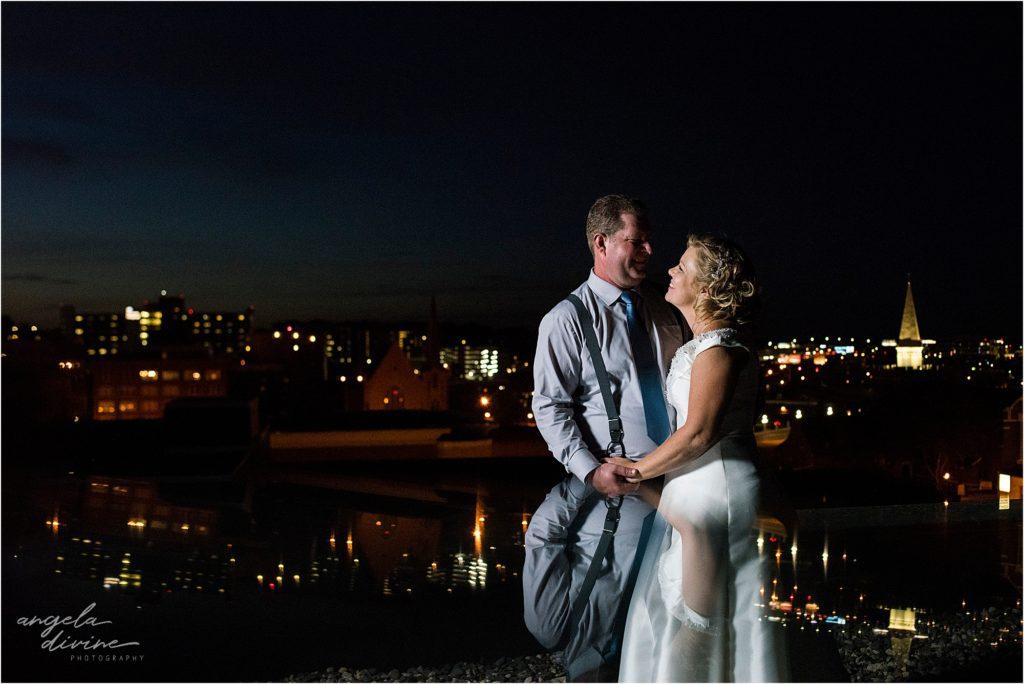 413 on Wacouta wedding rooftop