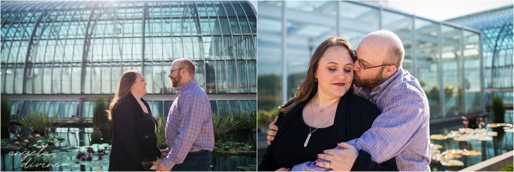Como Zoo Engagement Session outdoors