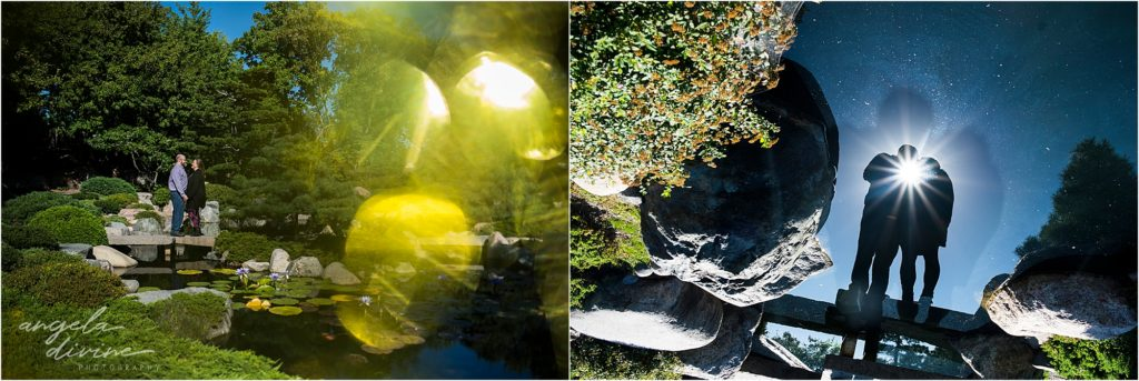 Como Zoo Engagement Session Japanese Garden
