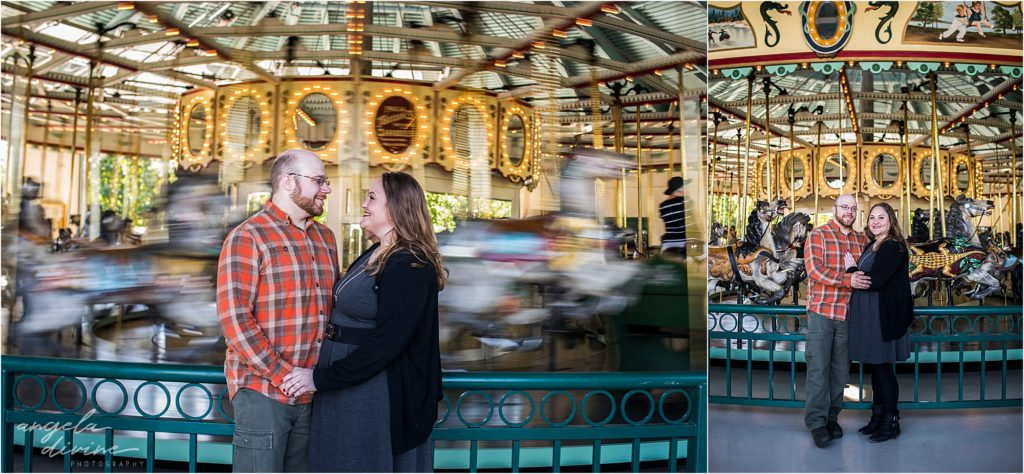 Como Zoo Engagement Session first date
