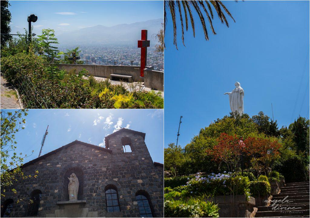 Santiago Chile San Cristobal Hill