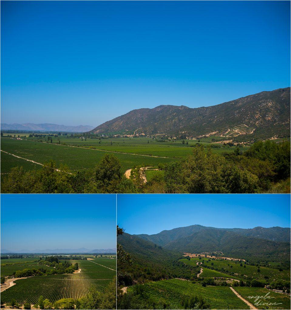 Santiago Chile Cholchagua Valley La Pistolle